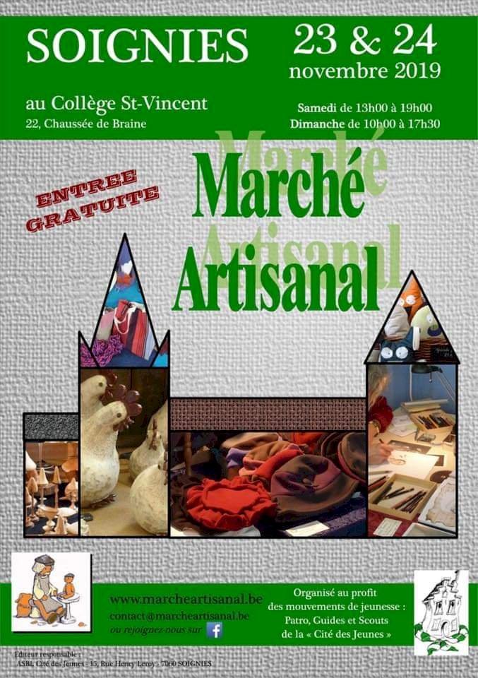Marché artisanal - novembre 2019