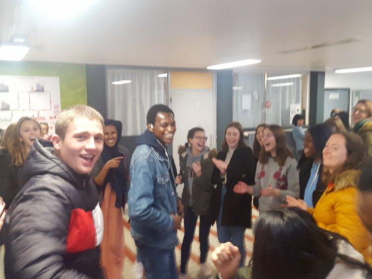 Stage des 5e Techniques sociales à la rencontre des demandeurs d'asile