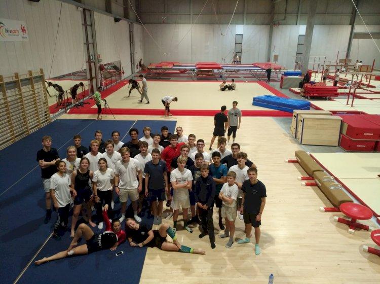 Gymnastique à Louvain La Neuve avec L'internat