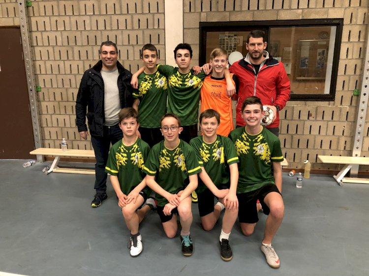 Finale provinciale de Futsal à Leuze