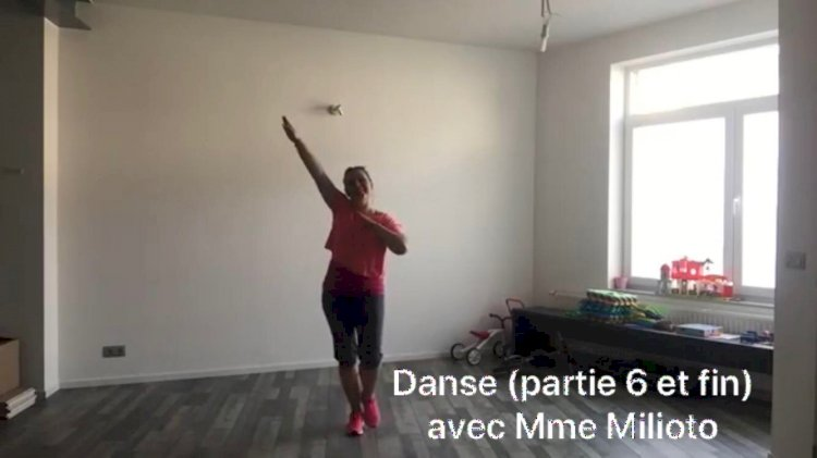 Danse avec Mme Milioto : Vendredi 19 avril cours n°6