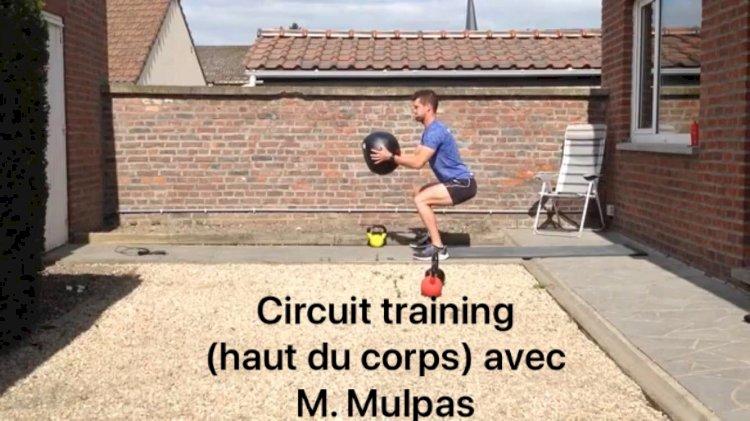 Les cours de renforcement : Lundi 27 avril Circuit training avec M. Mulpas