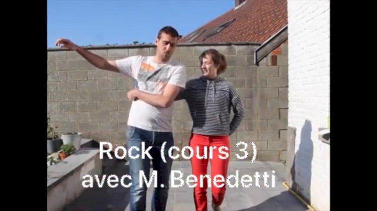 Les cours de Rock : Jeudi 30 avril Troisième cours de Rock avec M. Benedetti