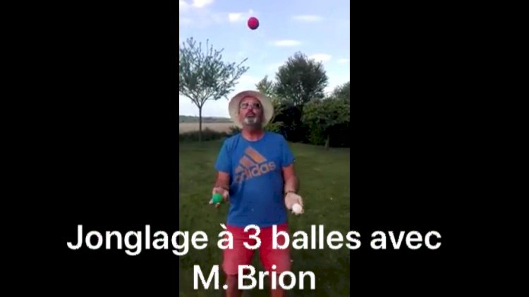 Cours de Jonglage : Vendredi 1er mai Jonglage avec M. Brion