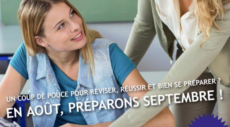 Cours de remédiation en août